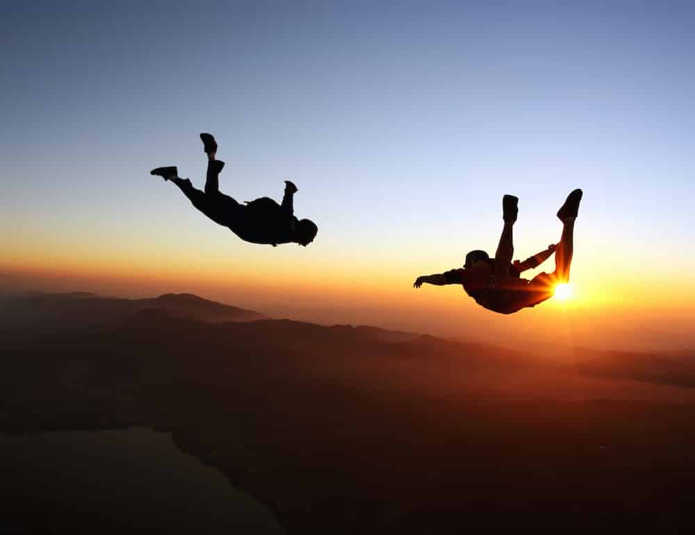 Découvrir le saut en parachute